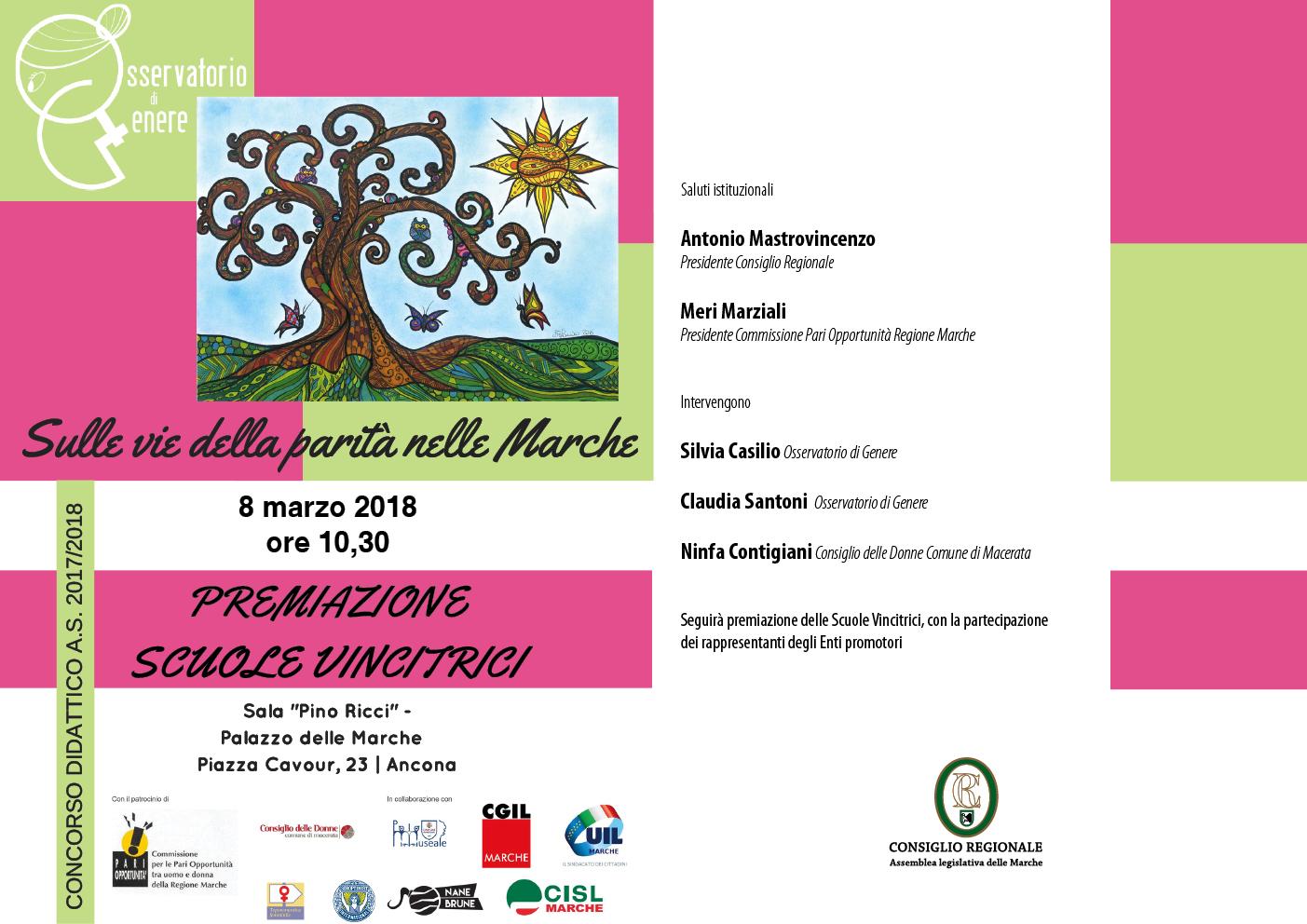 iniziativa 8 marzo