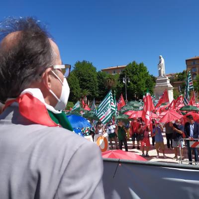 """Cgil Cisl Uil Marche : """"La sanità che vogliamo e che cosa chiediamo alla Regione"""" Manifestazione regionale ad Ancona"""