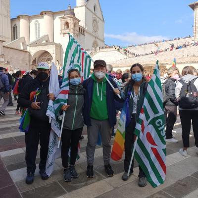 La CISL aderisce alla Marcia PerugiAssisi della pace e della fraternità 2021