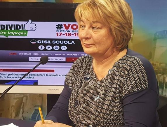 Anna Bartolini e le storie di Beatrice, Giuseppe e Gianvincenzo, candidati RSU Cisl Fsur, a Buonasera Marche