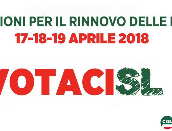 Elezioni Rsu 2018: sostieni i candidati della Cisl Marche