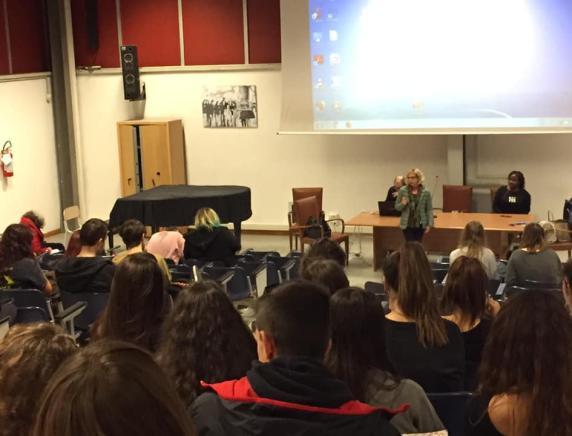 """""""Progetto  Diritto d'asilo, intergrazione e cooperazione internazionale"""" Incontro conclusivo con gli studenti del Rinaldini"""