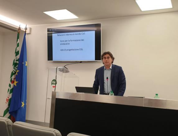 Vincenzo Russo nuovo  Presidente nazionale di Iscos Cisl