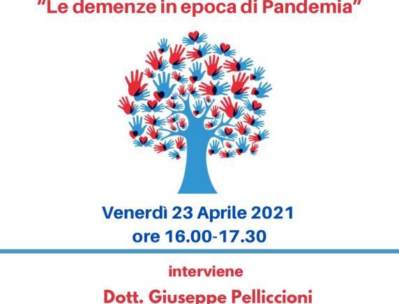 """""""Le demenze in epoca di pandemia"""": webinar con il dott. Pelliccioni dell'Inrca"""