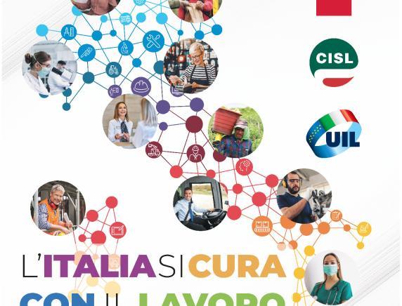 Primo Maggio 2021 Cgil Cisl  Uil Macerata