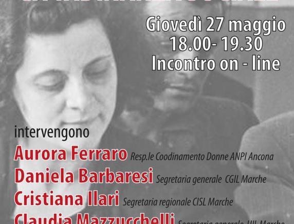 """""""Cittadinanza politica, rappresentanza, cittadinanza sociale"""": incontro online con Anpi Ancona per ricordare il 75° anniversario del voto alle donne"""