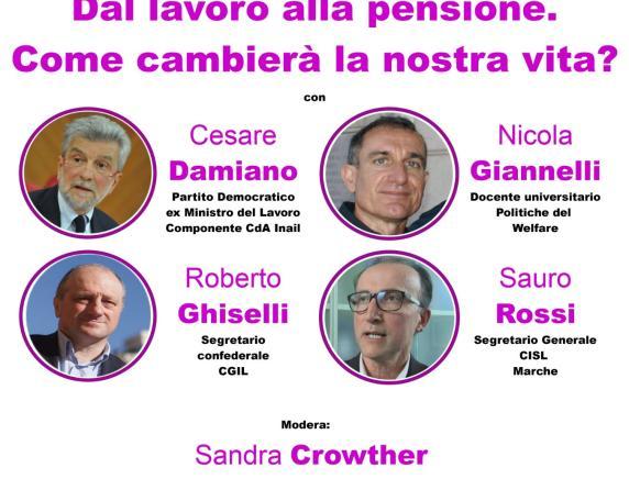 """""""Dal lavoro alla pensione, come cambierà la nostra vita?"""": incontro online con il Pd di Urbino"""