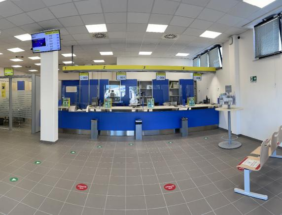 Nuova sede in via Buozzi per l'Ufficio postale succursale 10