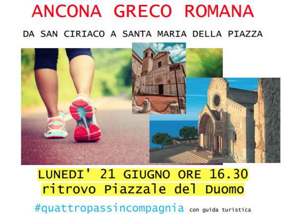 Camminata Covid Free: alla scoperta di Ancona antica con Anteas