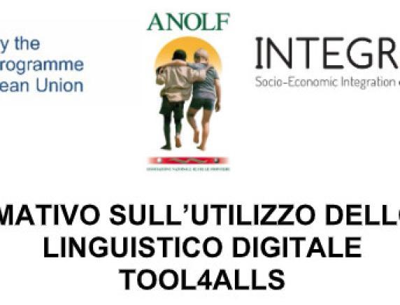 Progetto IntegrAction: modulo formativo sull'utilizzo di Tool4Alls
