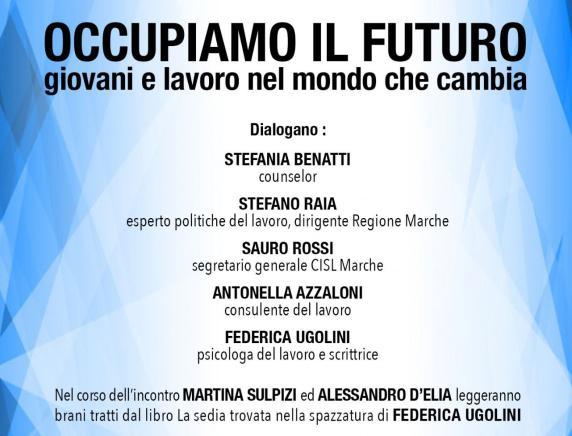 Occupiamo il futuro, giovani e lavoro nel mondo che cambia