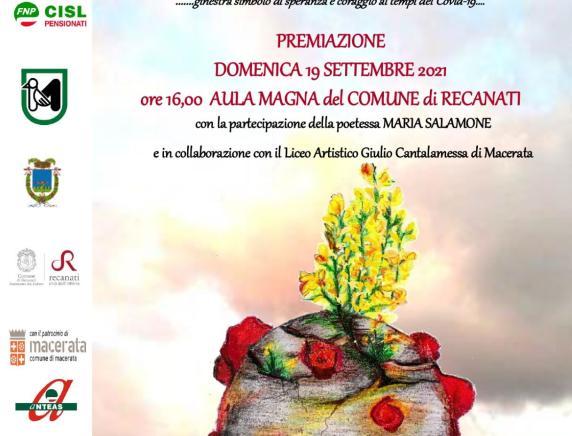 """Premiazione vincitori V edizione concorso biennale di poesia """"Città di Recanati"""""""