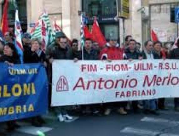 785765f08e 28/09/2016 A. Merloni in Amministrazione straordinaria, i sindacati  scrivono ai Commissari per l'attivazione dei riparti di credito